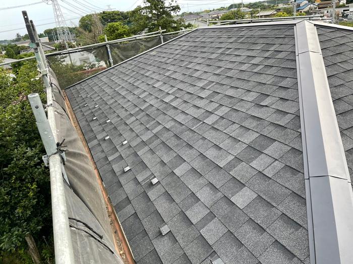 パミール葺き替え工事屋根材新設
