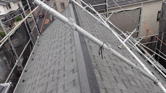 屋根修繕 完工