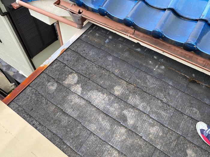 川口市の雨漏りは緩勾配に不適切な屋根材が原因~緩勾配なら立平~
