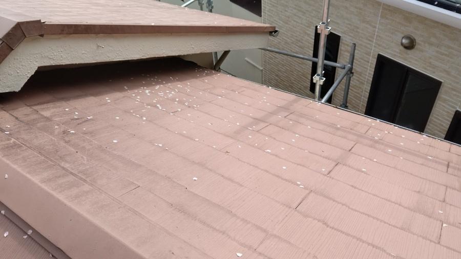 大屋根、スレート屋根