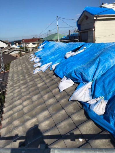 火災保険で台風被害にあったご自宅を横暖ルーフでカバー工法