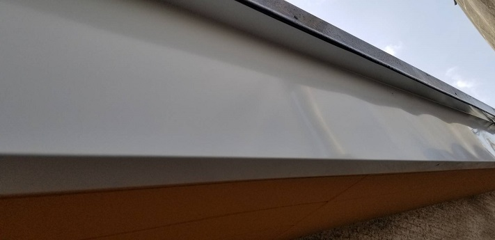 破風板板金巻き