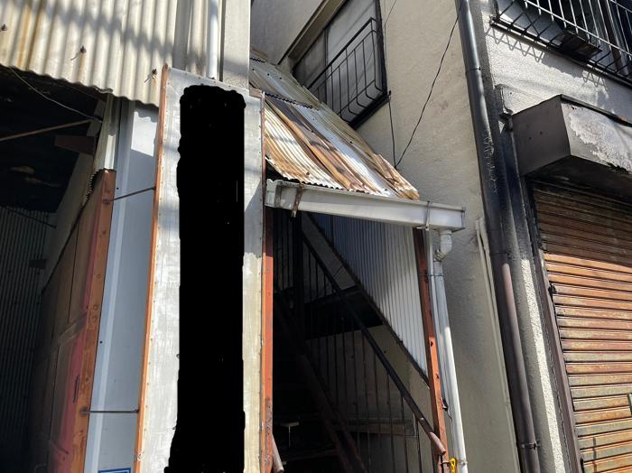 波板屋根の消失被害~火災保険を利用して修繕工事!!~
