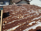 施工前の立平屋根