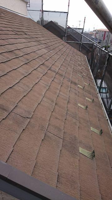 カバー工事する前の屋根