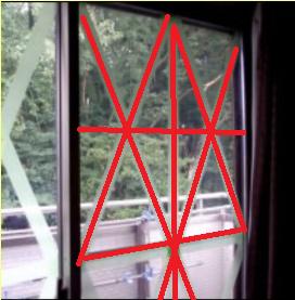 窓ガラスの防災対策