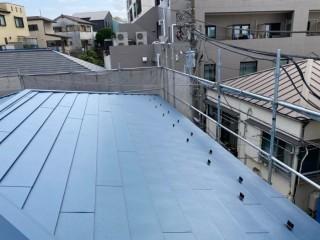 ガルバリウム鋼板、屋根葺き替え、板金屋根