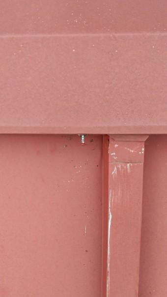 屋根点検、瓦棒屋根、釘浮き