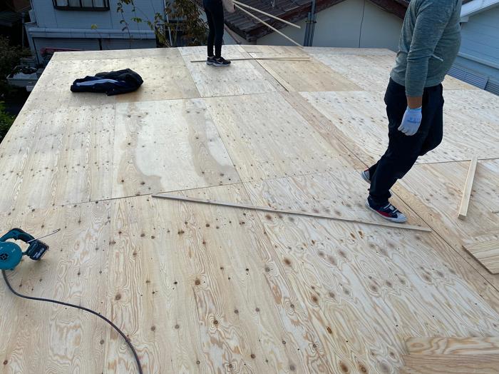 野地板の新設
