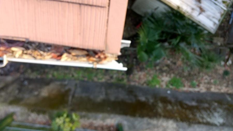 雨樋、軒樋、破損