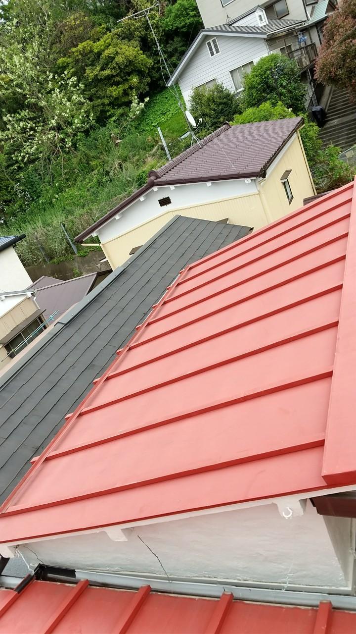 瓦棒屋根、板金屋根、葺き替え