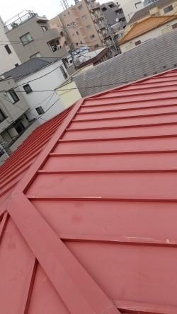 瓦棒屋根、火災保険を利用、葺き替え