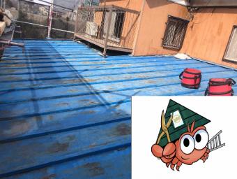 心木ありの瓦棒屋根