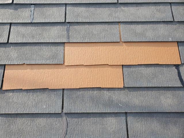 コロニアルを新設した屋根