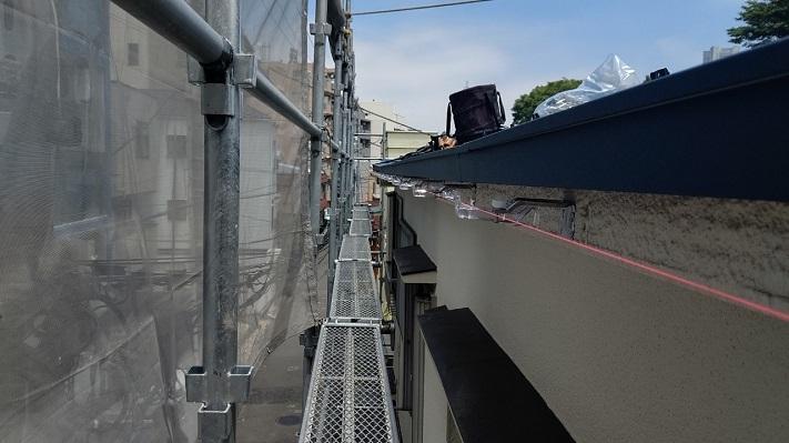 雨樋工事の吊金物