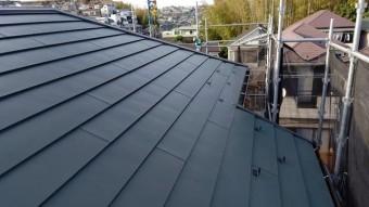 ガルバニウム 横暖ルーフ 金属屋根