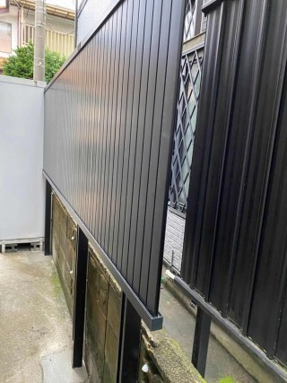 外構フェンス、火災保険、台風被害