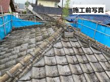 セメント瓦の劣化