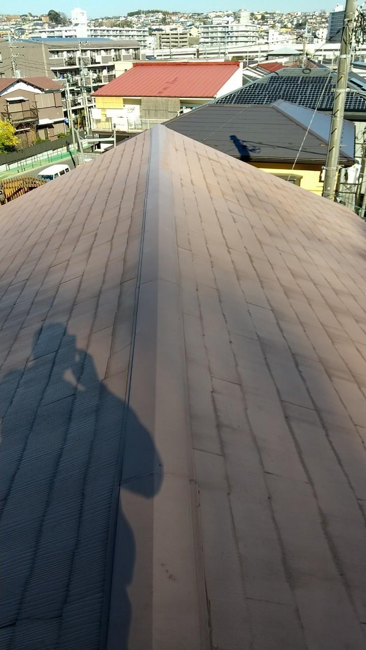 施工前 スレート屋根
