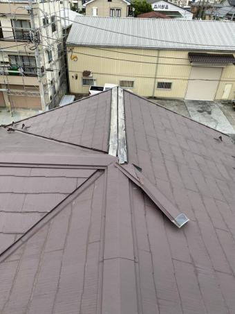 施工前台風被害