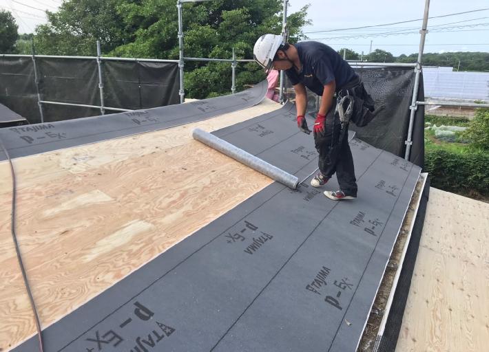 ルーフィング 下葺き材 屋根構造 カバー工法