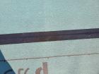 ルーフィングの切れ目に気密テープ