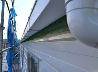 大きな屋根に対応できる排水能力の高い雨樋